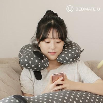 베드메이트유 닥스훈트 목베개 목쿠션