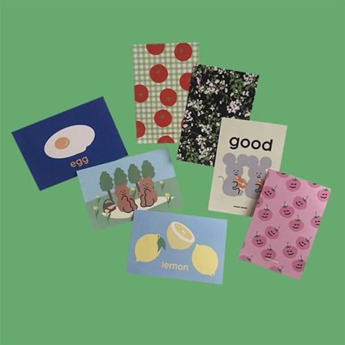 [뮤즈무드] muse mood postcard ver.11