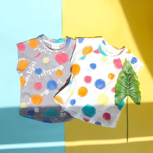 [온라인 전용] 크레파스 아동 민소매 티셔츠 IB2EV622U