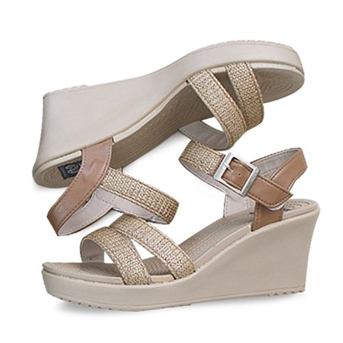 kami et muse Mesh strap wedge heel sandals_KM19s211