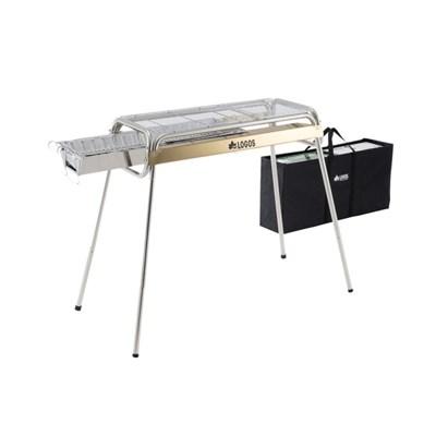 로고스 에코세라 스텐레스 바비큐 그릴 G80 XL 81060851 BBQ 화로대