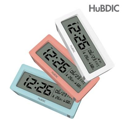 휴비딕 디지털 시계 온습도계 달력 HT-6  알람시계_(1240322)