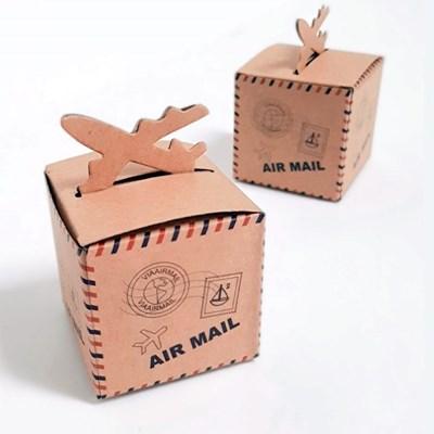 비행기상자(6x6x6cm-10매)_선물박스