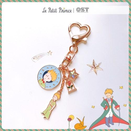 [어린왕자XOST] 어린왕자와 별빛 장미한송이 키링 OTK119602RYX