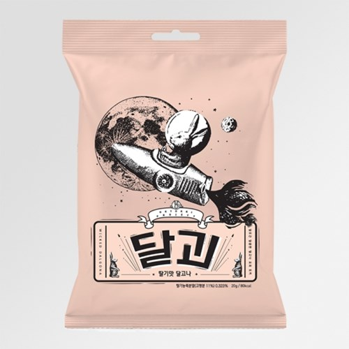 달괴 딸기맛 5개