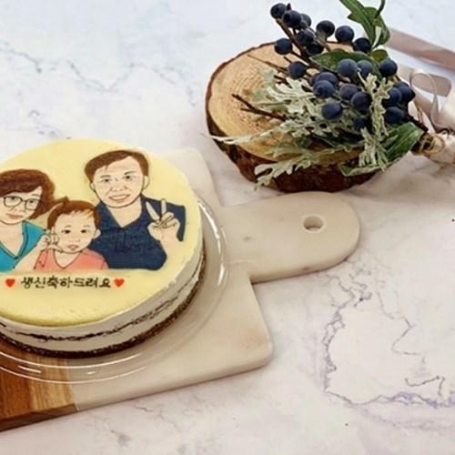 달콤하고 부드러운 커스텀 단호박 케이크 ♥