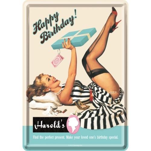 노스텔직아트[10186] Happy Birthday Harrolds