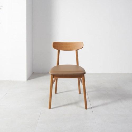 홈잡스 티니 카라멜 원목 의자