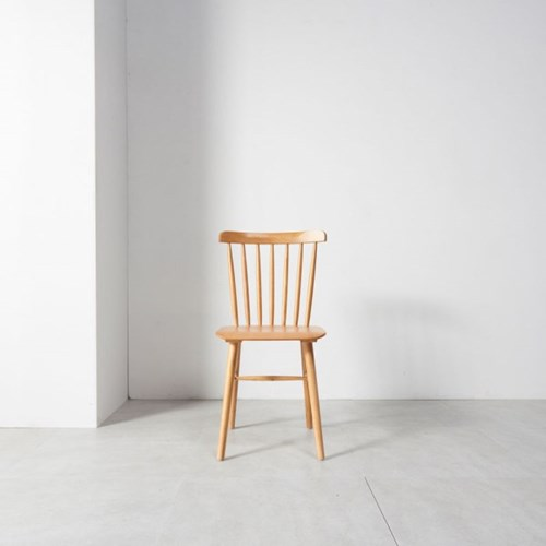 홈잡스 티니 내츄럴 원목 의자