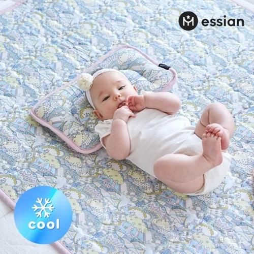 에시앙 인견 아기 쿨매트 2종(쿨매트+쿨베개)_오로라_(845636)