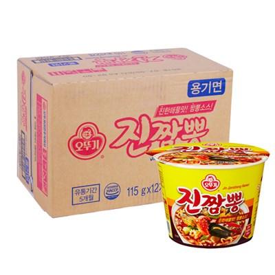 [오뚜기] 진짬뽕 큰컵 115gx12개(BOX)