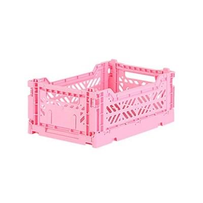 아이카사 폴딩박스 S baby pink