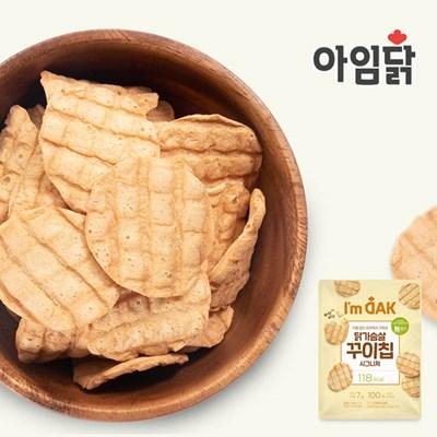 [아임닭] 닭가슴살 꾸이칩 시그니처 30g 5팩