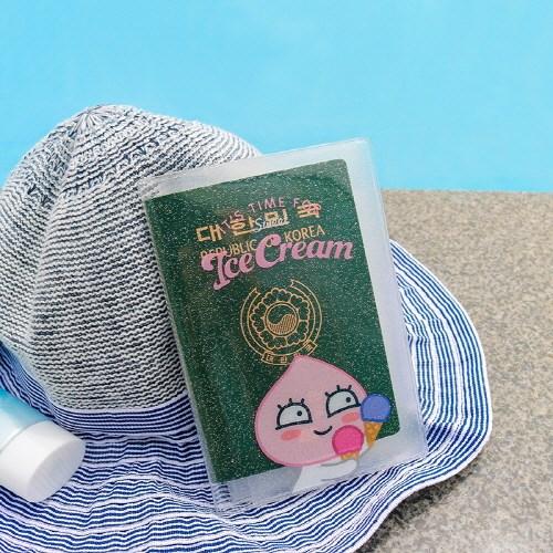 카카오프렌즈 썸머 투명 여권케이스_(4015054)