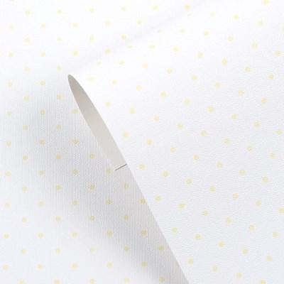 만능풀바른벽지 실크 J9382-5 도트 옐로우
