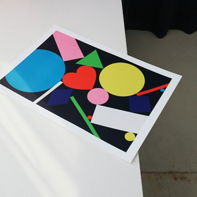 A3 POSTER - 02 Dynamic Shapes (A3 포스터)