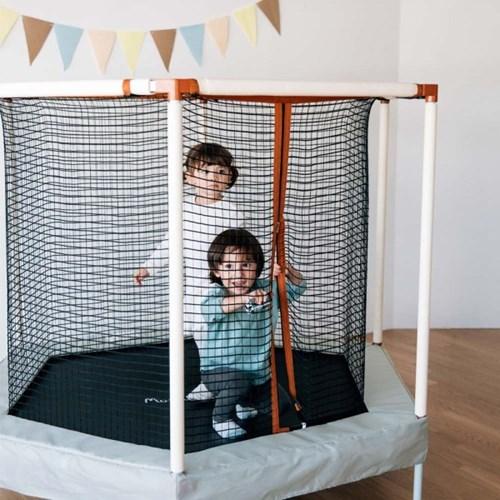 유아 안전망 대형 트램폴린 마카롱점폴린 68인치(173cm) 3~4인용