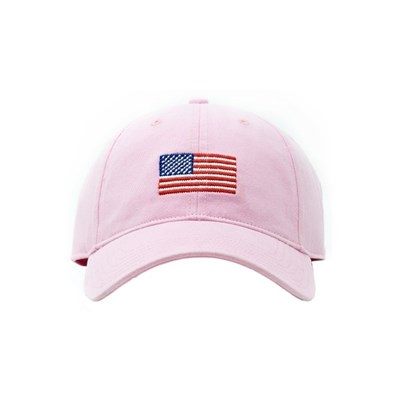 [Hardinglane]Adult`s Hats American Flag on Light Pink