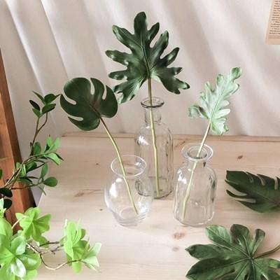 실리콘 나뭇잎조화 3type