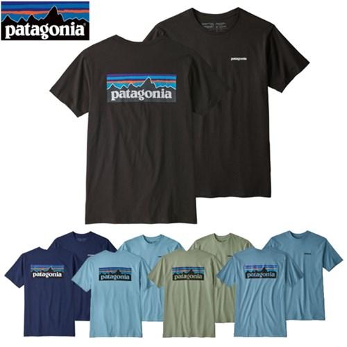 [정품][국내 배송] 파타고니아 P-6 로고 리스판서빌리티 반팔티