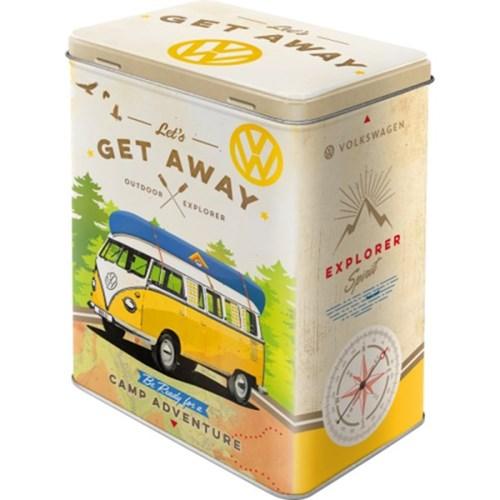 노스텔직아트[30136] VW Bulli - Lets Get Away!