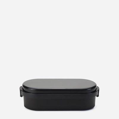 젤쿨 돔 보냉제 일체형 런치박스 L-캐비어 블랙