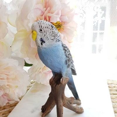 나뭇가지 앵무새 인형