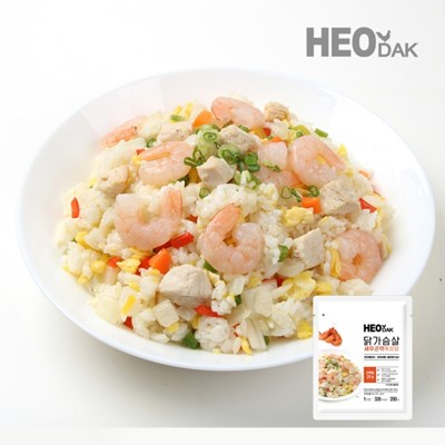 [허닭] 닭가슴살 새우 곤약 볶음밥 250g