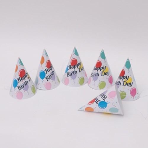 파티고깔모자 생일풍선(6개입)_(301715075)