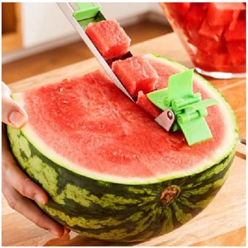 수박 슬라이서 큐브 풍차 수박칼 커터기