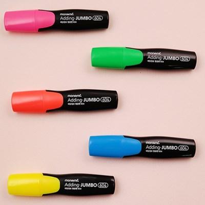 에딩점보 형광펜 604 - 6색 세트