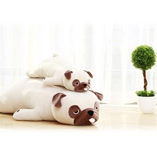 정품 대형 라잉퍼그 강아지 모찌 봉제인형 55cm_(1820542)