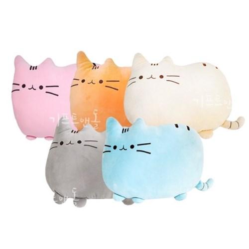 대형 모찌모찌 고양이쿠션 말랑말랑 미오미오 인형_(1820520)