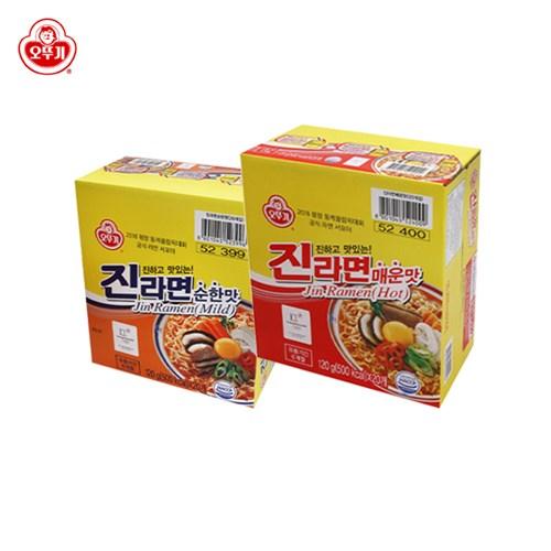 [오뚜기] 진라면 매운맛/순한맛 20봉 골라담기