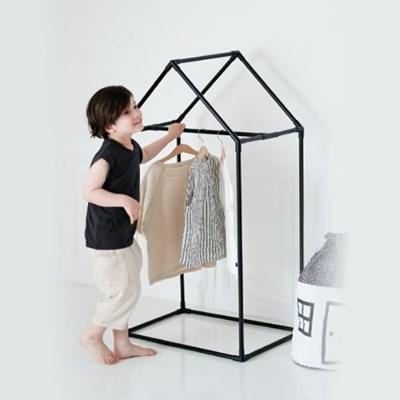 [쁘띠메종] 하우스 키즈옷장 블랙 2size