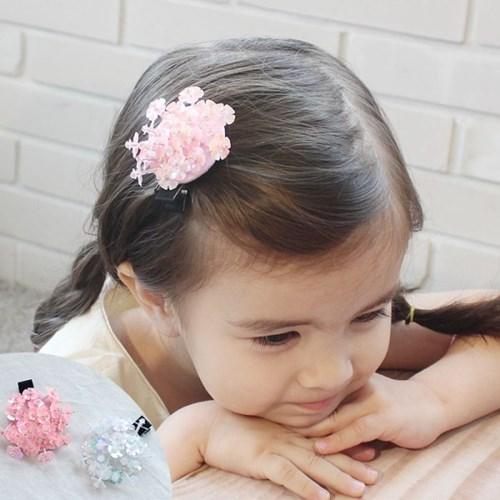 채니봉봉 꽃나리 집게핀 유아헤어핀_(929813)