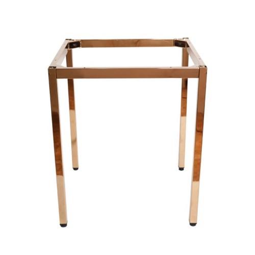 [가구느낌] 로즈골드 30각 프레임(600) 테이블 다리_(962793)