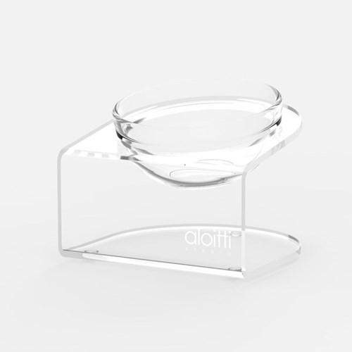 루미 펫테이블+유리볼1개 물그릇 밥그릇 식기