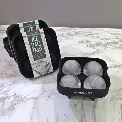 [이코트랜드] 실리콘 아이스볼 트레이 (silicon ice bal_(1400453)