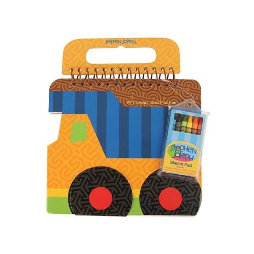 스케치북 크레용세트 - 트럭_(1177047)