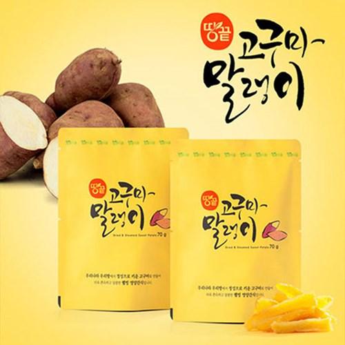 땅끝식품 고구마말랭이70gX25봉_(2008015)