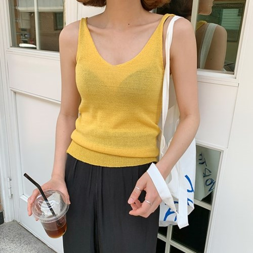 Cool summer sleeveless knit_Y_(1345884)