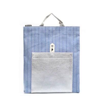 프롬 메이 백 Blue pattern