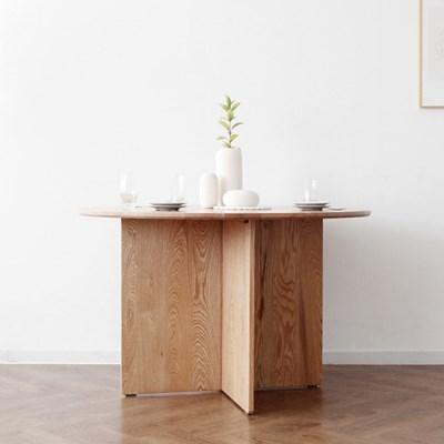 [오크] A형 V원형 식탁/테이블
