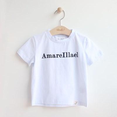 기본로고 아동 반팔 티셔츠 IB2EH507U