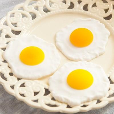 계란후라이 FOFDFT 모조과일 모형 빵 채소_(1333281)