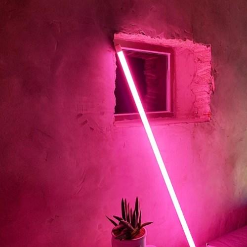 [자취Bar만들기] LED 네온폴 무드등 네온사인