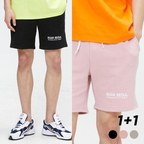 [1+1] ROAR SEOUL 로고 서울 숏팬츠 나염 3COLOR