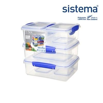 [시스테마] 클립잇 블루 텐팩_(835331)