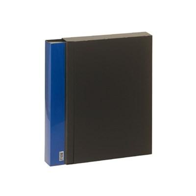 10000 A4고정식80매 클리어파일(블루)_(2620401)